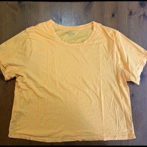 Athleta Cotton Cropped T-Shirt